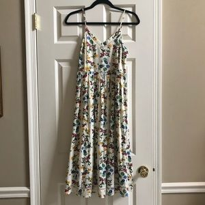 Old Navy Multicolored Floral Dress